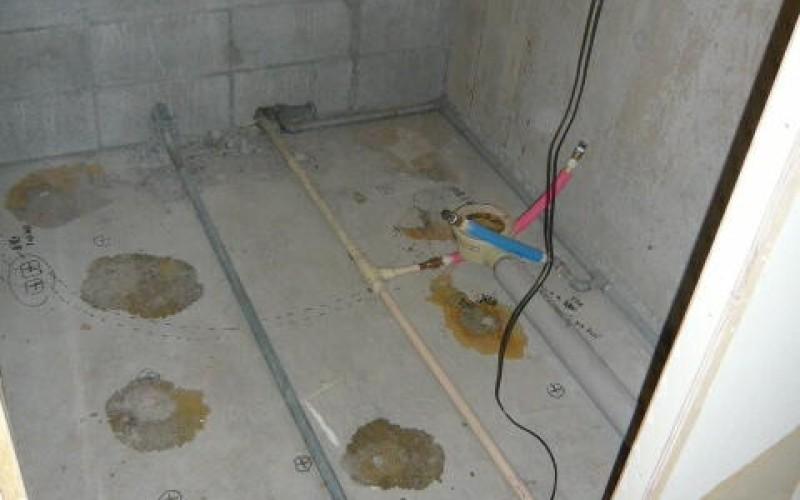 マンションリフォームの浴室スケルトンの状態。見たことありますか?