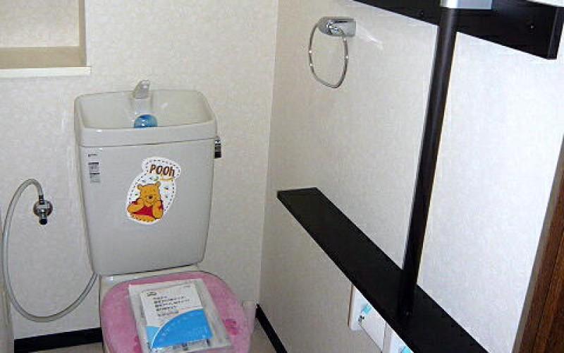 小さなリフォームからこつこつと!WCを快適にリフレッシュリフォーム!