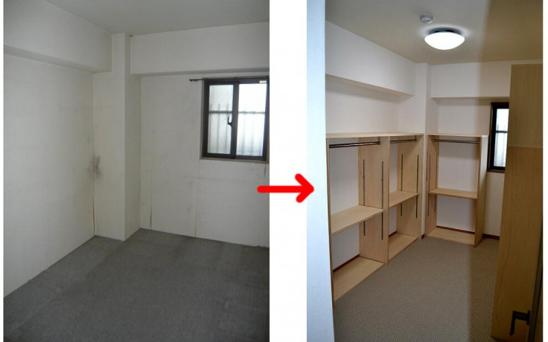東京からUターン。新規マンション購入に伴うマンションリフォーム工事の施工事例:その6
