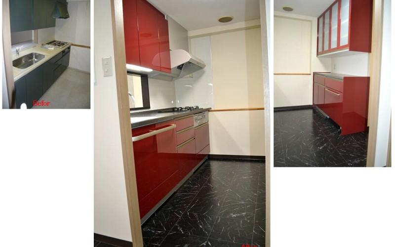 東京からUターン。新規マンション購入に伴うマンションリフォーム工事の施工事例:その8