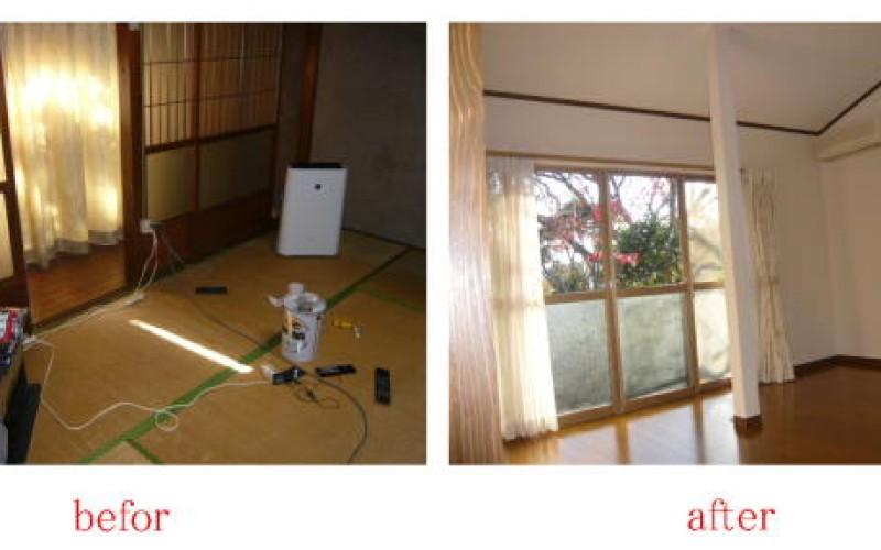 浜松市浜北区で築年数が私よりもずっと年上の平屋のお宅のリフォーム工事~最終回~