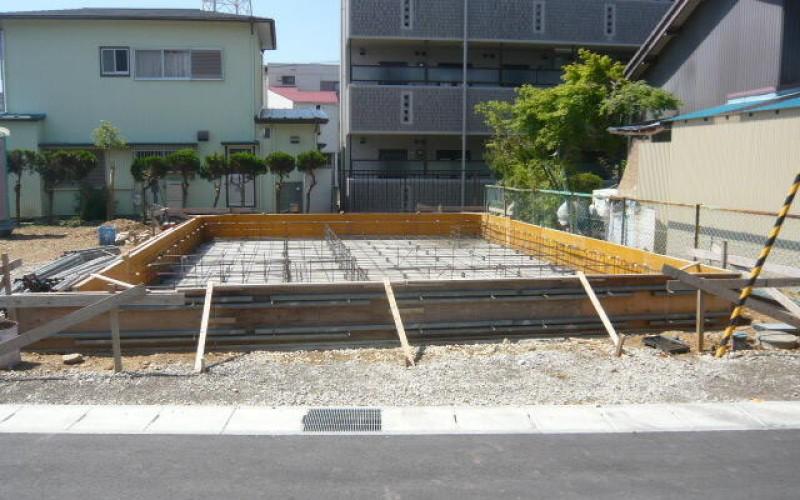 基礎工事6日目。鉄筋組完成。浜松で家を建てるならを考えて。