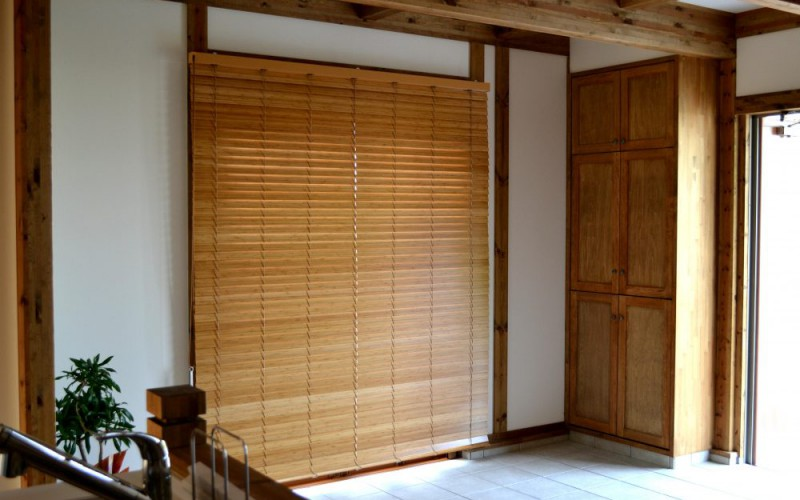 浜松市中区T様邸のステキなブラインド取付け施工事例です
