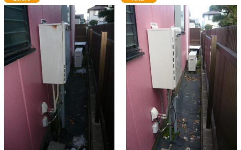 浜松の給湯交換サービスの施工事例です。給湯器交換業者としてGT-2450-AWXの取替え