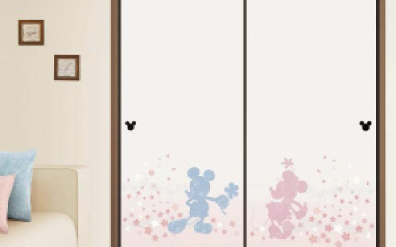かわいい襖、ふすまをお探しの方!ミッキーのフスマ紙はいかがでしょうか?