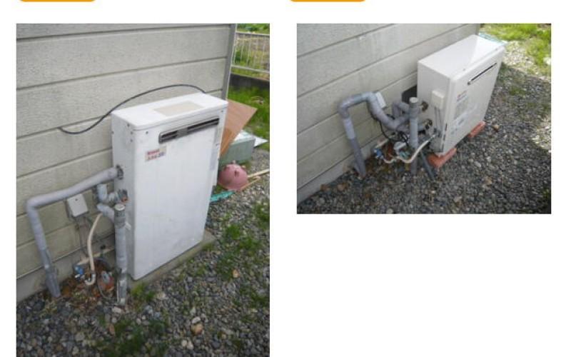 給湯交換サービスの施工事例です。給湯器交換業者としてGT-C2052-SARX-2 BLの取替え工事