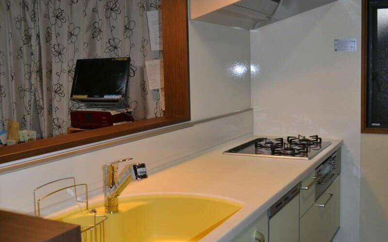 掛川市でのトクラスのキッチンリフォームの施工事例です。