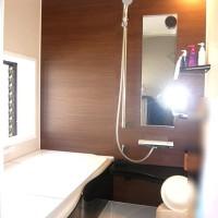 浜松市の浴室リホームの施工事例です。今回は戸建住宅2階部分の浴室リホームです。