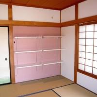 和室を洋風にそして収納棚もかわいく造作。そんな施工事例です。