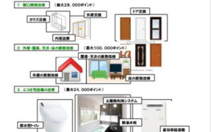 次世代住宅ポイントを上手に使った住宅リフォームはいかがですか?