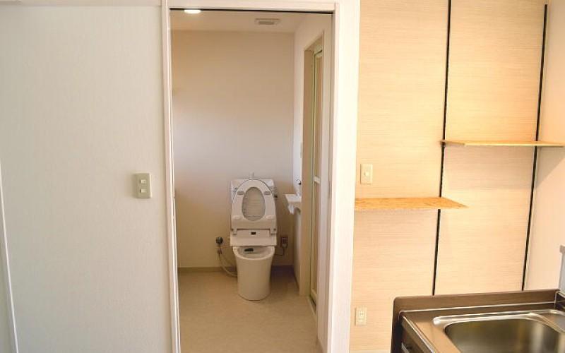 入居率アップのリノベーション工事の施工事例 浜松市中区のアパート その3