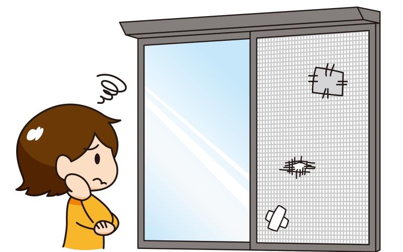 浜松市の網戸張替え コロナ&虫対策に!