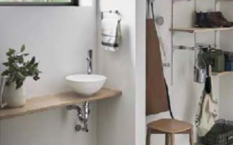 ウィルス対策!玄関に置けるコンパクト手洗。
