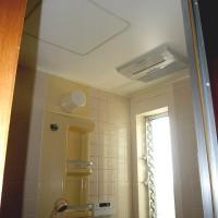 浴室換気暖房機の取替リフォーム工事の施工事例です。