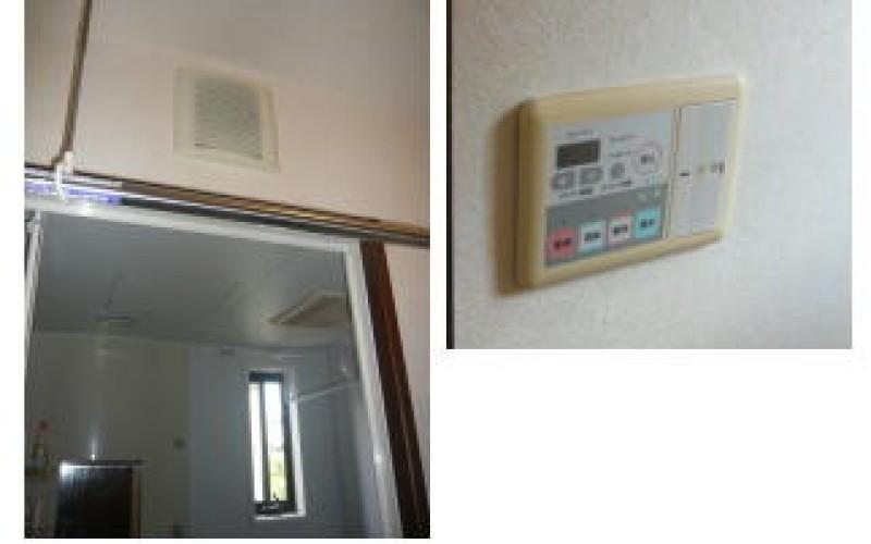 浴室暖房換気扇の取替依頼が増えてきました。