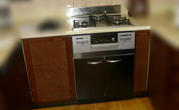 浜松市中区のオーブン付コンロから収納+ガスコンロへの取替のサムネイル
