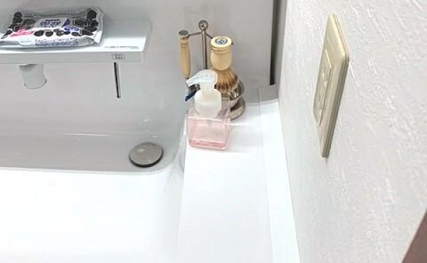 インテリアコーディネーターおすすめ!洗面台と壁のすきまを埋めてくれる部材です。のサムネイル