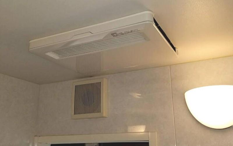 湖西市のO様の三菱製の浴室暖房器の取替施工事例