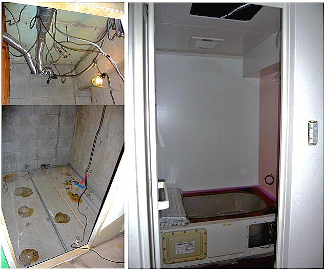 浜松市中区のマンションリフォームのユニットバス入れ替えの施工例です。