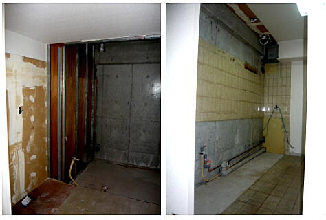 浜松市中区幸マンションリフォームです。解体工事きれいに終了しました。