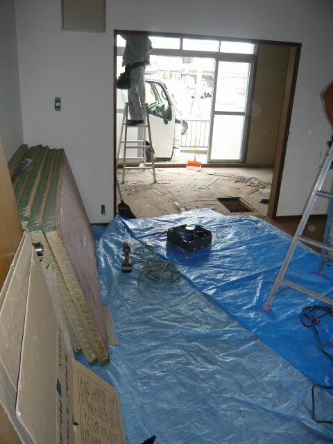 静岡県浜松市西区のアパートの改修工事、リフォーム工事の施工例です。