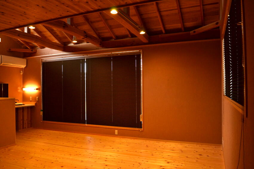 和室のカーテン プリーツスクリーン
