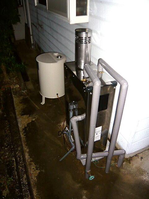 浜松市の石油給湯器の交換はお任せください。即対応で安心価格です。