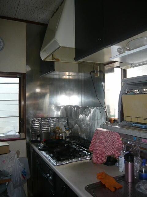 浜松市浜北区の台所リフォーム施工前