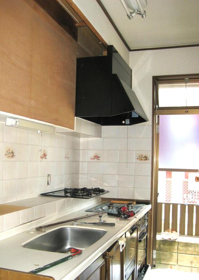 キッチン施工前(2)