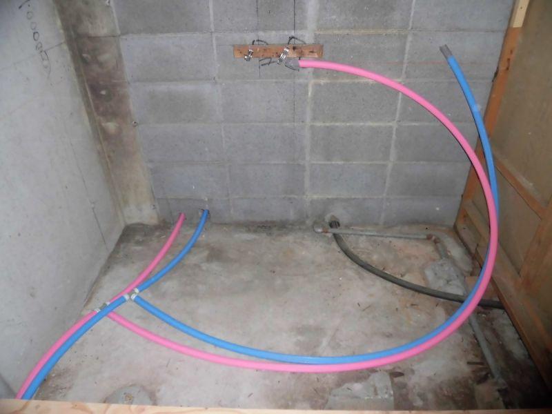 浴室 給水管