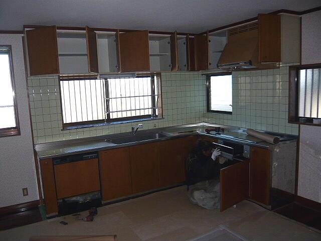 トクラスのキッチンリフォーム施工前