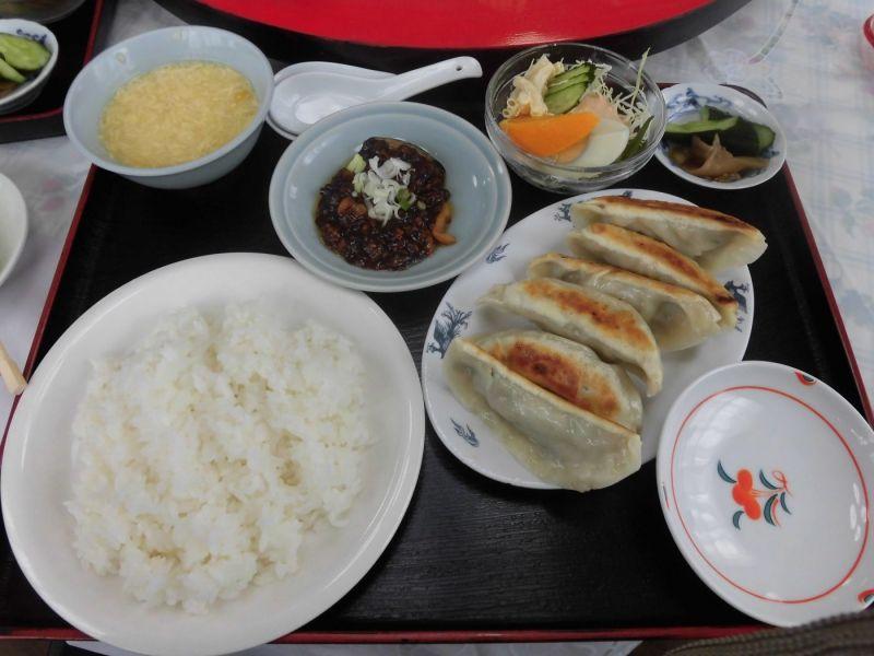 ランチ 雪園 餃子定食