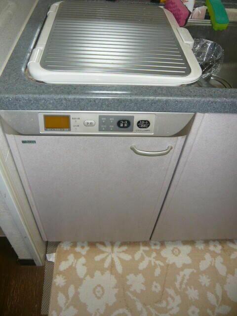 ヤマハのキッチンの上から入れる食洗機